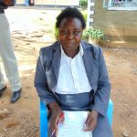 The Water Project: Boyani Primary School -  Deputy Head Teacher Mrs Gladys Owaga