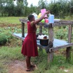 The Water Project: Sawawa Secondary School -  Getting A Cup From The Dishrack