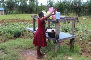 The Water Project:  Getting A Cup From The Dishrack