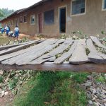 The Water Project: Lwombei Primary School -  Dishrack