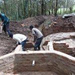 The Water Project: Bumavi Community, Joseph Njajula Spring -  Pipe In Place