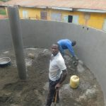 The Water Project: Friends School Mutaho Primary -  Central Pillar In Place And Plastering