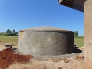 The Water Project:  Curing Tank