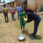 The Water Project: Sikhendu Primary School -  Handwashing Demonstration
