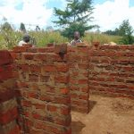 The Water Project: Sikhendu Primary School -  Latrine Construciton