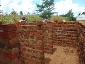 The Water Project:  Latrine Construciton