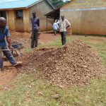 The Water Project: Sikhendu Primary School -  Local Materials For Contruction