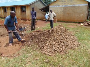The Water Project:  Local Materials For Contruction