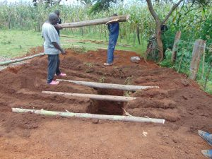 The Water Project:  Preparing Ground For Latrines
