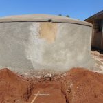 The Water Project: Sikhendu Primary School -  Tank Nears Completion