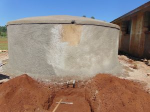 The Water Project:  Tank Nears Completion
