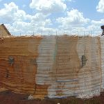 The Water Project: Sikhendu Primary School -  Tank Walls Readying For Plaster