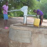 The Water Project: Tulimani Community A -  Pumping
