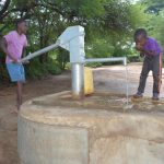 The Water Project: Tulimani Community A -  Pumping The Well