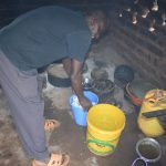 The Water Project: Kasioni Community B -  Inside Kitchen