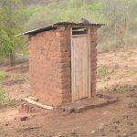 The Water Project: Kasioni Community B -  Latrine