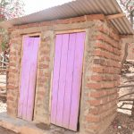 The Water Project: Kasioni Community C -  Latrine