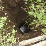 The Water Project: Nzimba Community -  Unprotected Dug Well