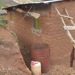 The Water Project: Nzimba Community -  Back Of Home