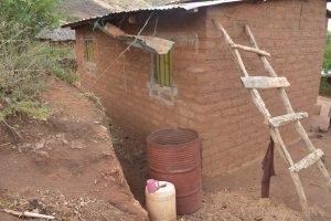 The Water Project:  Back Of Home