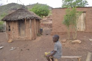 The Water Project:  Kid In The Compound