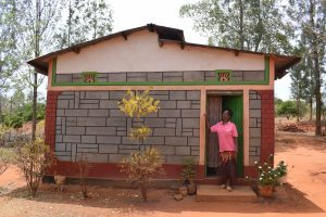 The Water Project:  Zipporah Wanza Mutua Stands At Her Home