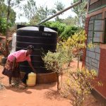 The Water Project: Kiteta Community A -  Small Rainwater Tank At Home