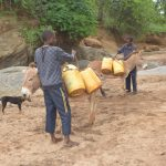 The Water Project: Mbitini Community A -  Loading Up Donkeys