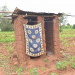 The Water Project: Mbitini Community A -  Latrine