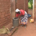 The Water Project: Mbitini Community A -  Water Storage Container