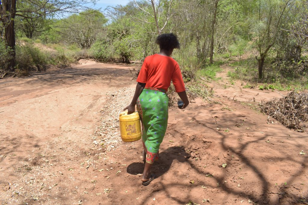The Water Project : kenya20308-20309-carrying-water