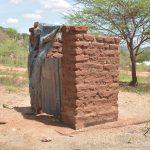 The Water Project: Kangalu Community B -  Latrine