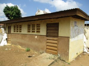 The Water Project:  Main Latrine