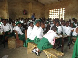 The Water Project:  Pupils Inside Classroom
