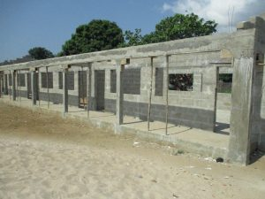 The Water Project:  School Building Under Construction