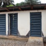 The Water Project: Lungi, Mahera, Mahera Health Clinic -  Health Center Latrine