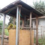 The Water Project: Lungi, Mahera, Mahera Health Clinic -  Incinerator At Health Center