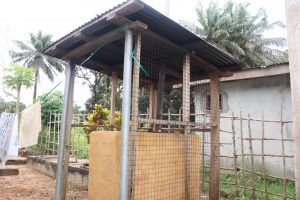 The Water Project:  Incinerator At Health Center