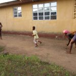 The Water Project: Lungi, Mahera, Mahera Health Clinic -  Kids Playing Stone Ball