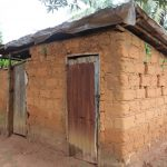 The Water Project: Lungi, Mahera, Mahera Health Clinic -  Latrine