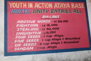 The Water Project:  Notice Board At Attayah Base