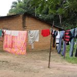 The Water Project: Lungi, Rosint, #26 Old Town Road -  Clothes Line