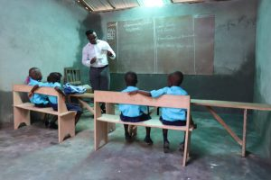 The Water Project:  Pupils Inside Class Room