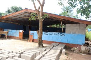 The Water Project:  School Building At The Community