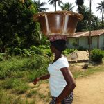 The Water Project: Lungi, Rosint, #26 Old Town Road -  Young Lady Selling Fish