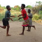 The Water Project: Lungi, New York, Robis, #7 Masata Lane -  Kids Playing Local Game Called Nortie