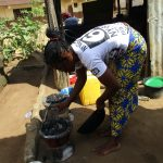 The Water Project: Lungi, New York, Robis, #7 Masata Lane -  Lady Cooking