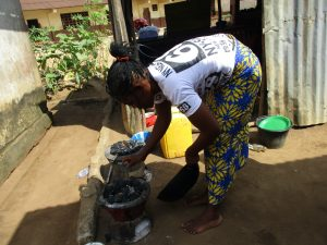 The Water Project:  Lady Cooking