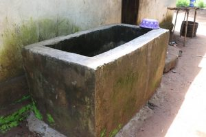 The Water Project:  Water Storage For Domestic Use
