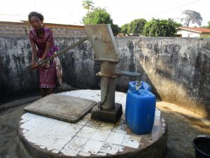 The Water Project:  Girl Collecting Water
